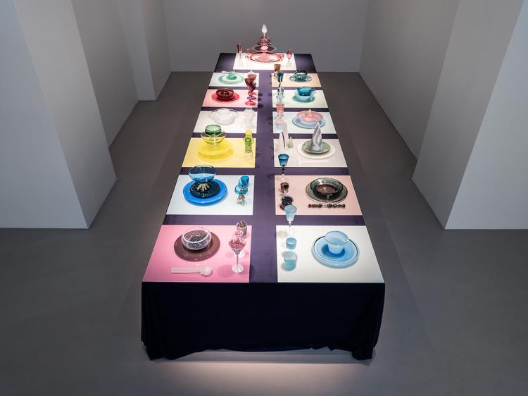 'The After Party, installation view', 2017, ett konstverk av Evelina Dovsten