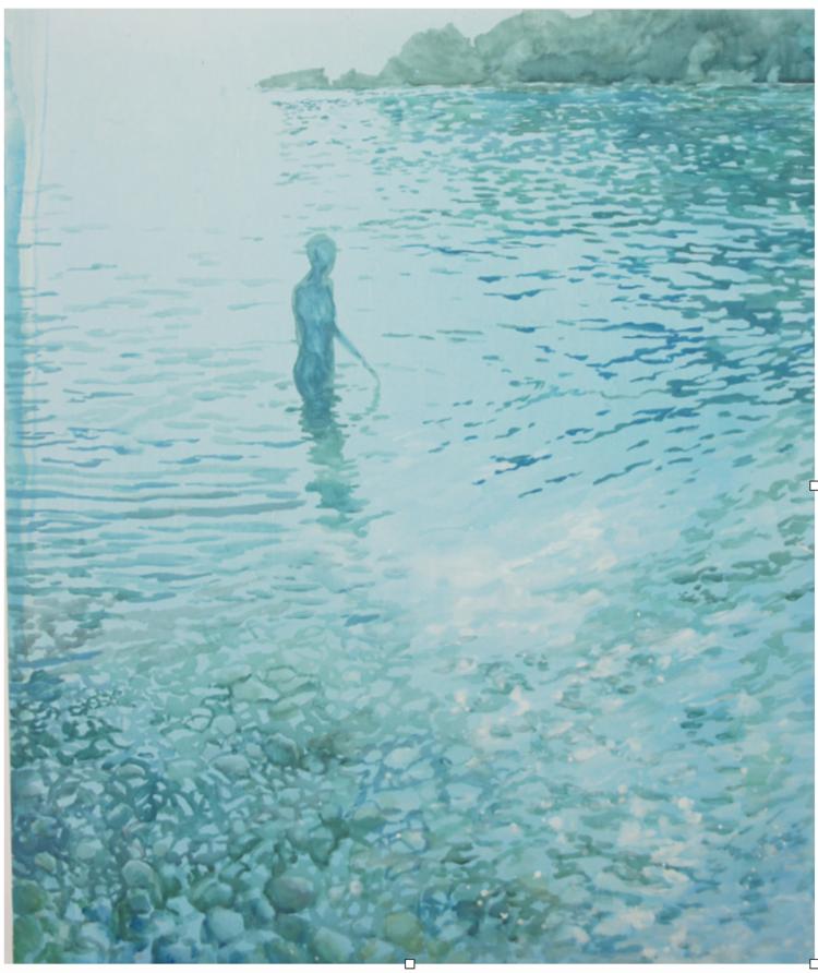 'Reflection ', 2017, ett konstverk av Gustaf von Arbin