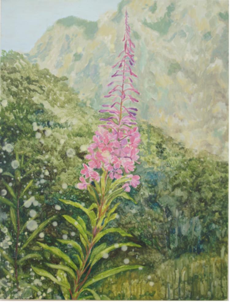 'Rallarros', 2017, ett konstverk av Gustaf von Arbin