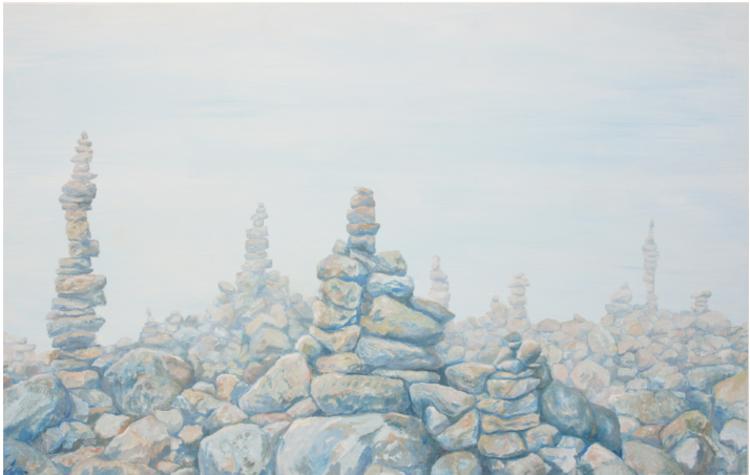 'Thoughts ', 2017, ett konstverk av Gustaf von Arbin