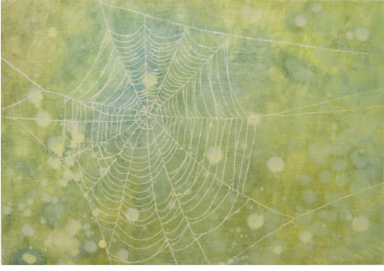 'Web', 2017, ett konstverk av Gustaf von Arbin