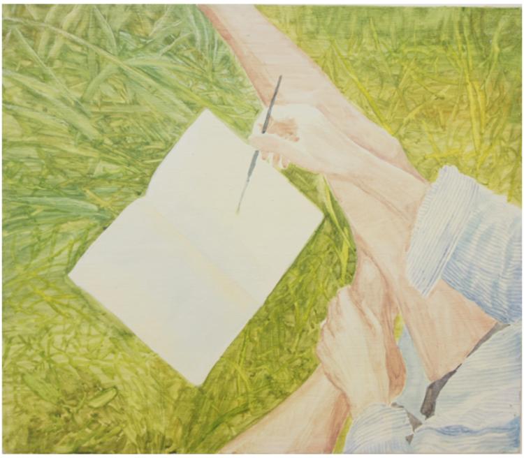 'Field trip', 2017, ett konstverk av Gustaf von Arbin