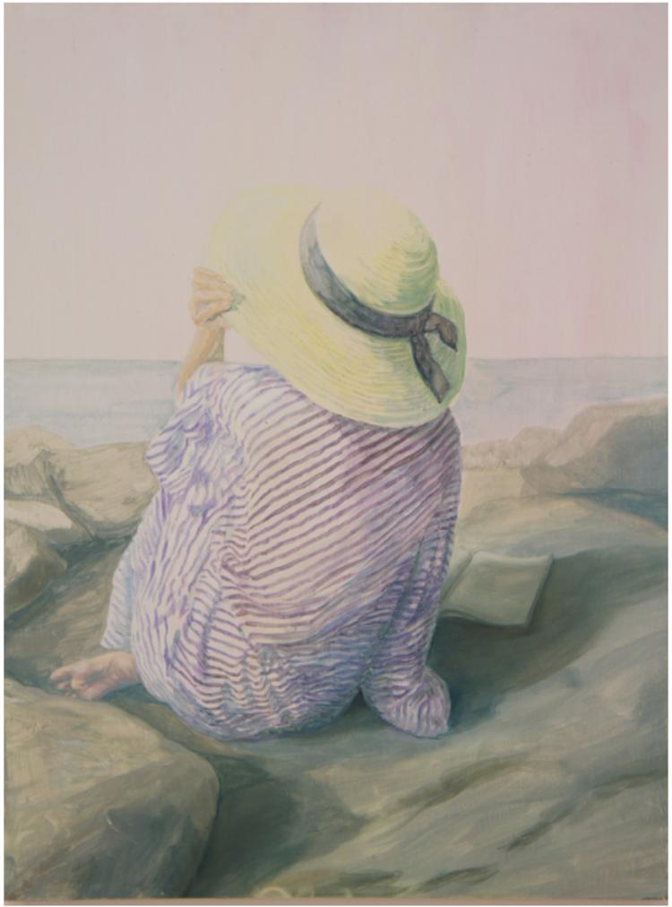 'En plein air', 2017, ett konstverk av Gustaf von Arbin