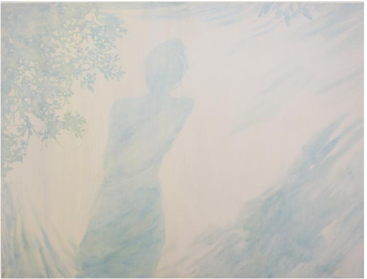 'Silouette', 2017, ett konstverk av Gustaf von Arbin