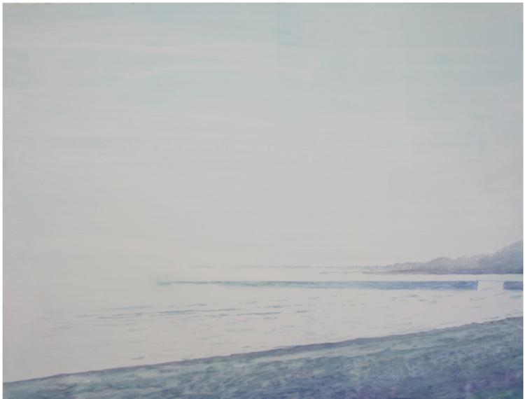 'Stranden', 2017, ett konstverk av Gustaf von Arbin