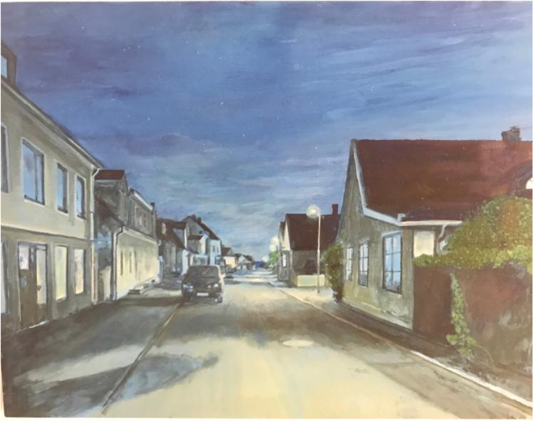 'Storgatan 1 ', 2017, ett konstverk av Gustaf von Arbin