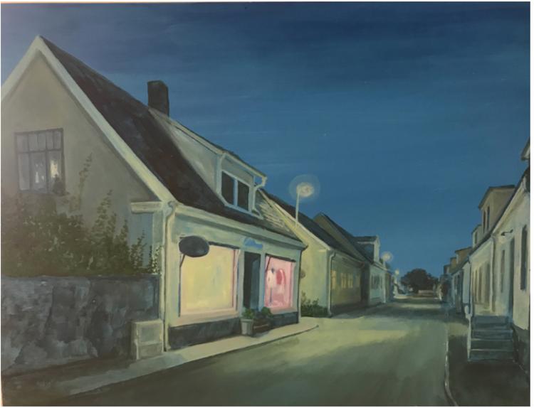 'Storgatan 2', 2017, ett konstverk av Gustaf von Arbin