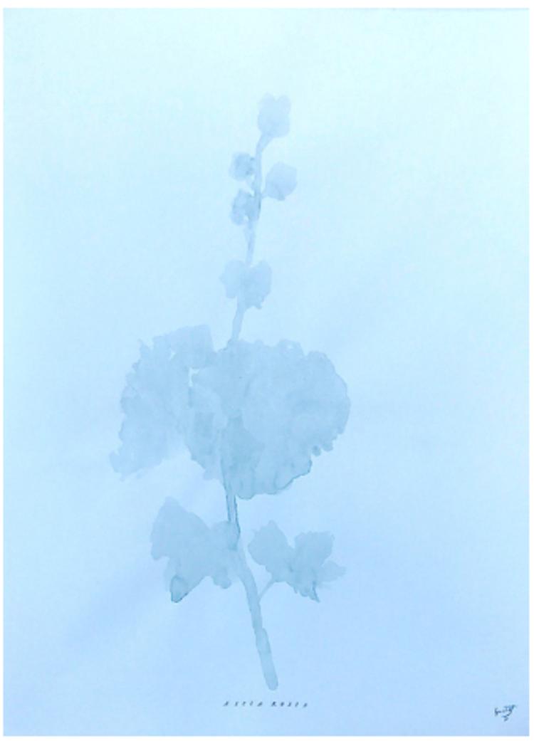 'Shadow I ', 2017, ett konstverk av Gustaf von Arbin