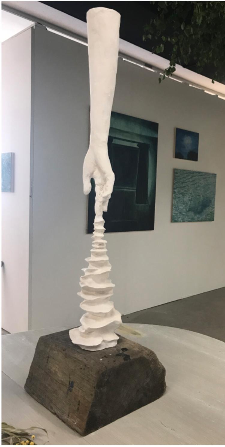 'Finger reflection ', 2017, ett konstverk av Gustaf von Arbin