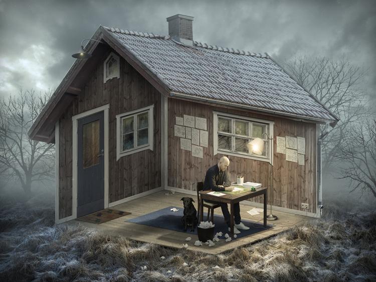 'The Architect', 2015, ett konstverk av Erik Johansson