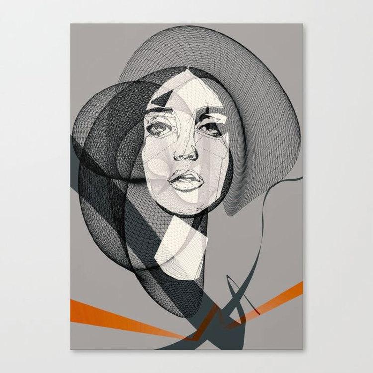 'She', 2018, ett konstverk av Håkan Årblom