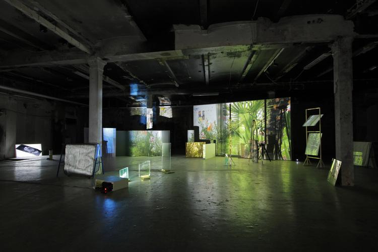 'Displacements of the Visible', 2015, ett konstverk av Lena Bergendahl
