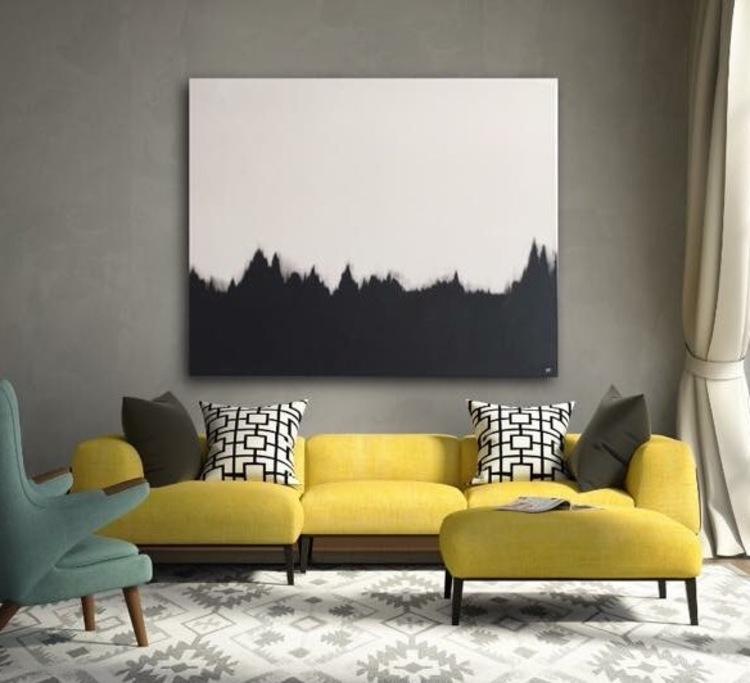 'The Dark Forest ', 2017, ett konstverk av Marie Falestål