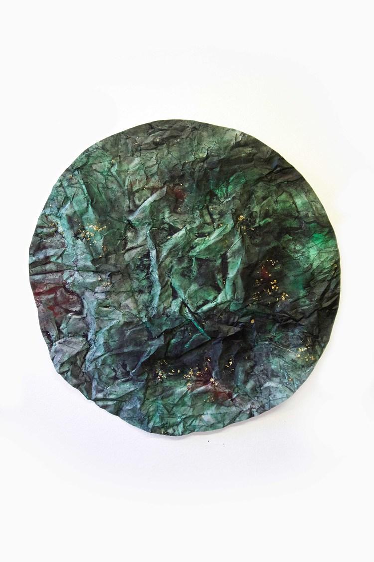 'Planet', 2017, ett konstverk av Therese Parner
