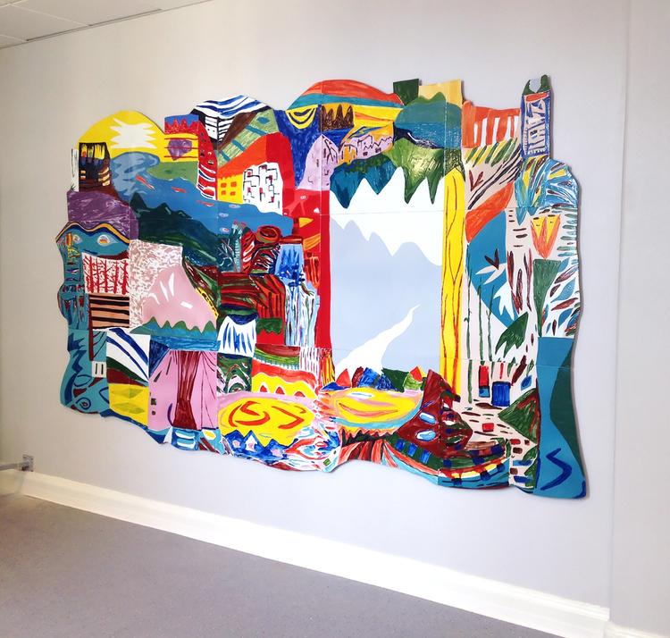 'Distant Dream', 2016, ett konstverk av Marie Dahlstrand
