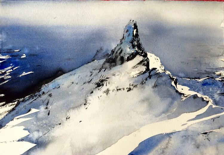 'Lofoten II / Norway', 2017, ett konstverk av Peter Eugén Nilsson