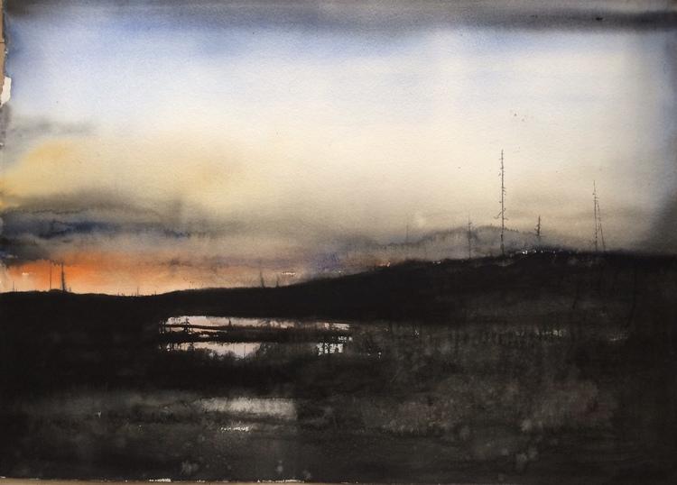 'Kalhygge / Norrland', 2016, ett konstverk av Peter Eugén Nilsson