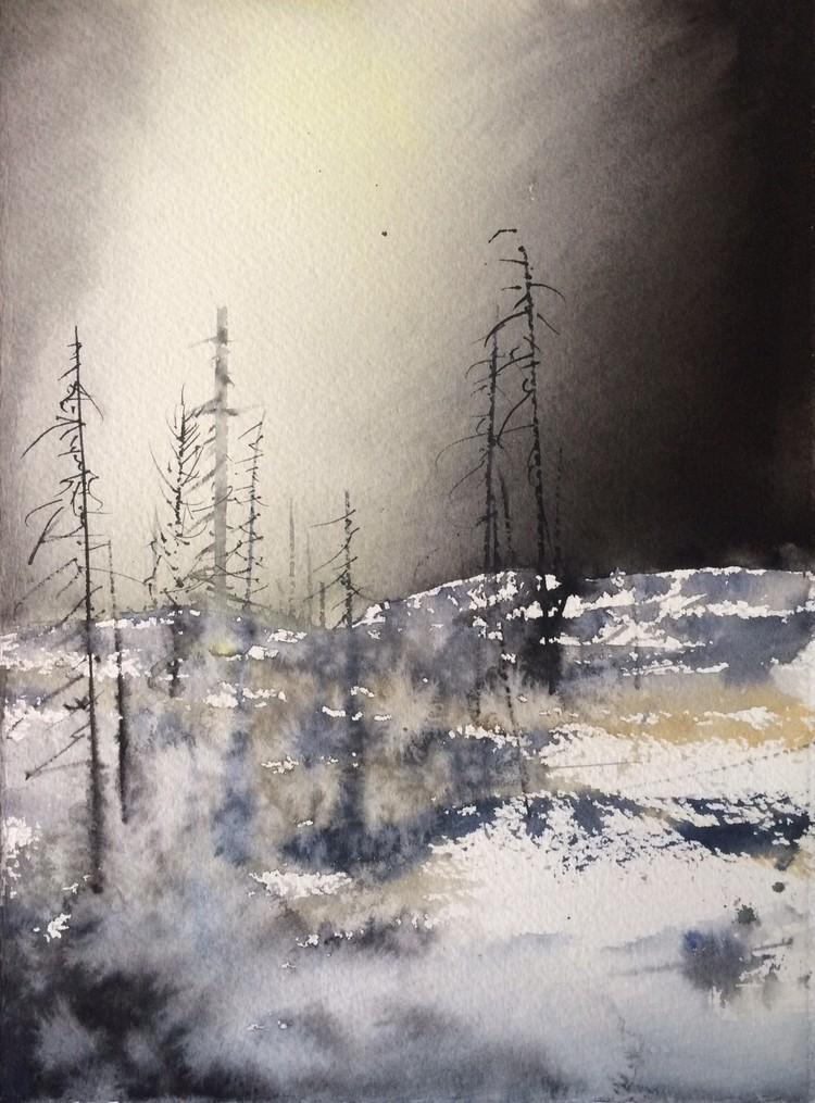 'Northern Light / Sweden', 2017, ett konstverk av Peter Eugén Nilsson