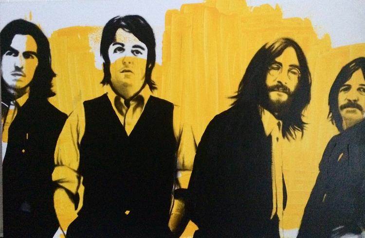 'The Beatles', 2016, ett konstverk av Peter Eugén Nilsson