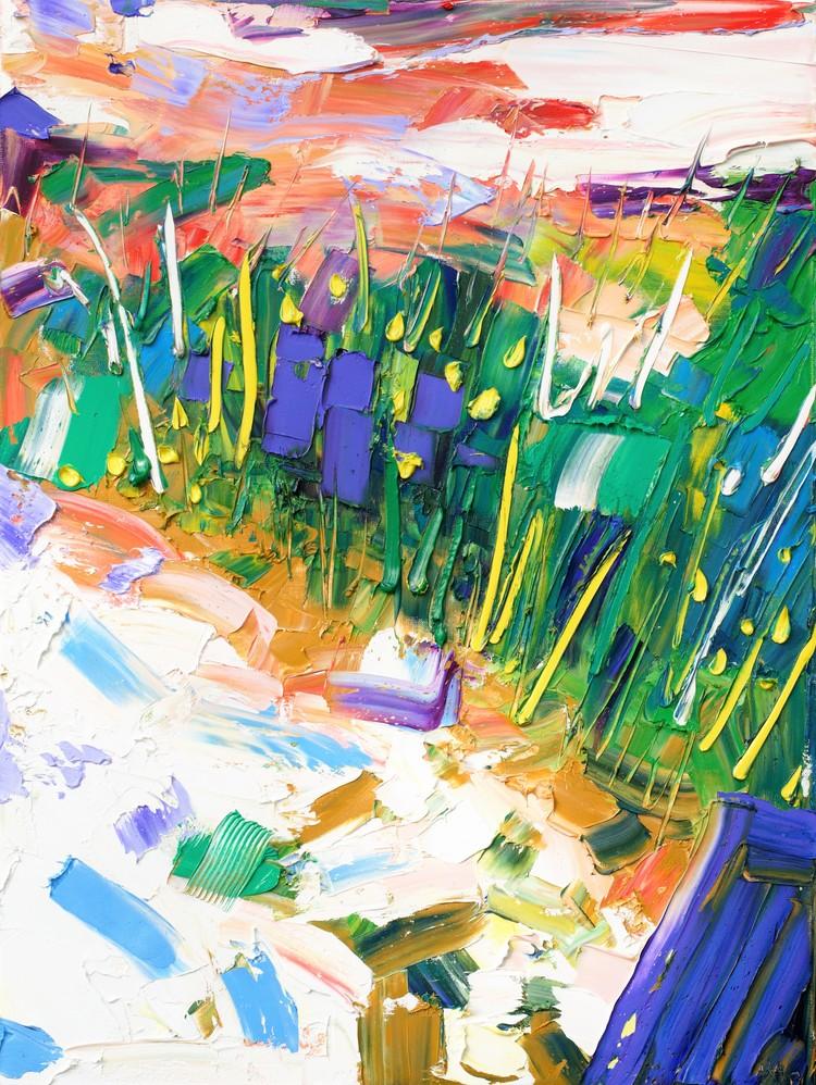 'Down, yet up', 2017, ett konstverk av Anna Afzelius-Alm