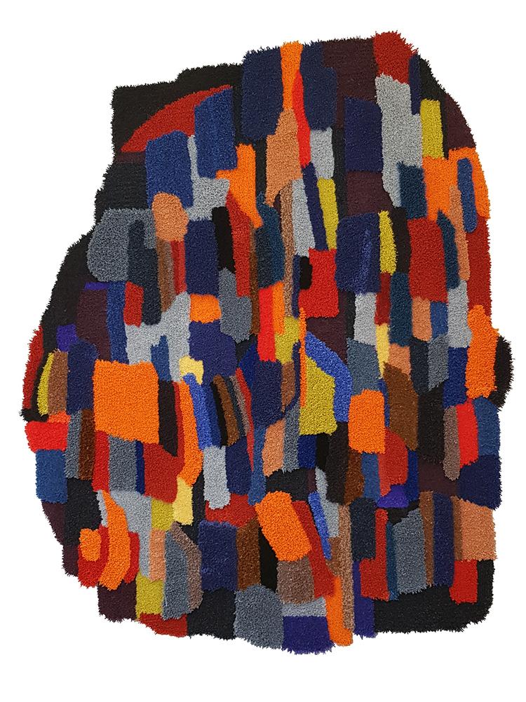 'Matta nr 190', 2019, ett konstverk av Jonathan Josefsson / Ollio