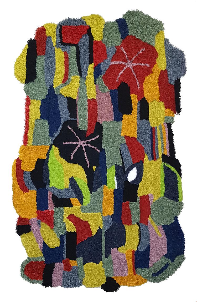 'Matta nr 192', 2019, ett konstverk av Jonathan Josefsson / Ollio