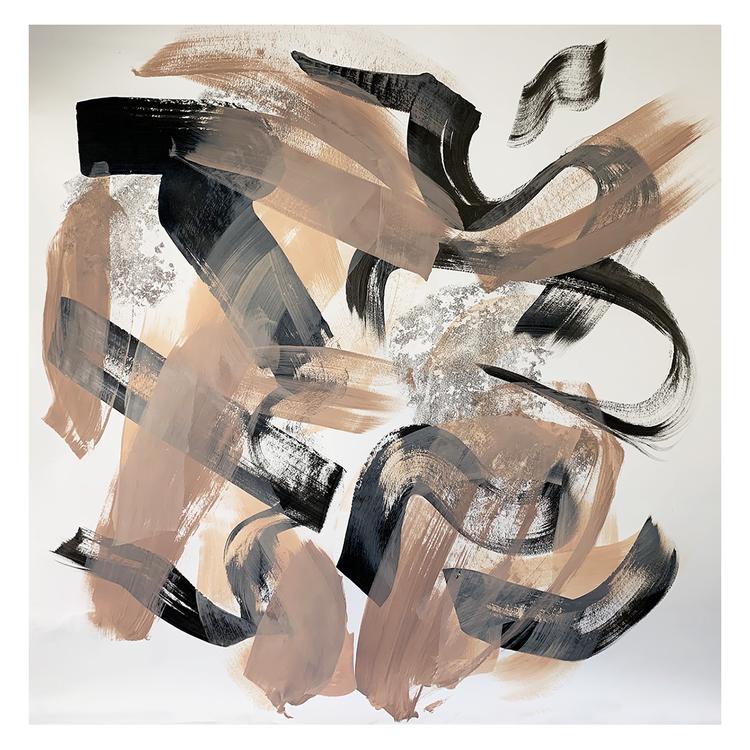 'floral6', 2020, ett konstverk av Eva Hjelte