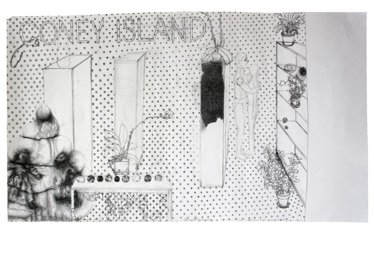 '...and Coney Island', 2011, ett konstverk av Terese Bolander