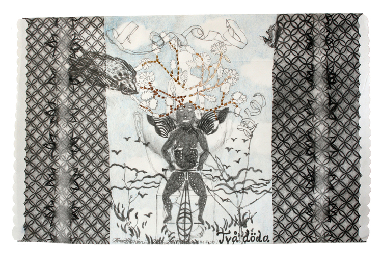 'I'm looking at the big sky', 2011, ett konstverk av Terese Bolander