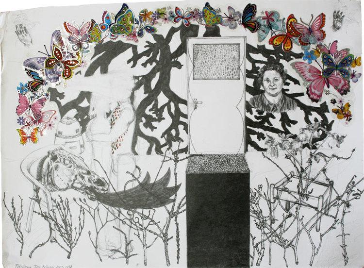 'Fjärilarna (They are beautiful)', 2011, ett konstverk av Terese Bolander