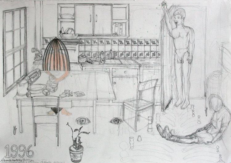 '1996', 2012, ett konstverk av Terese Bolander