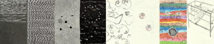 'Hug machine (ur Samlingarna: kommande, 1000, nattfjärilar, black, vinden, i hål, I'm looking at the big sky, nu)', 2018, ett konstverk av Terese Bolander