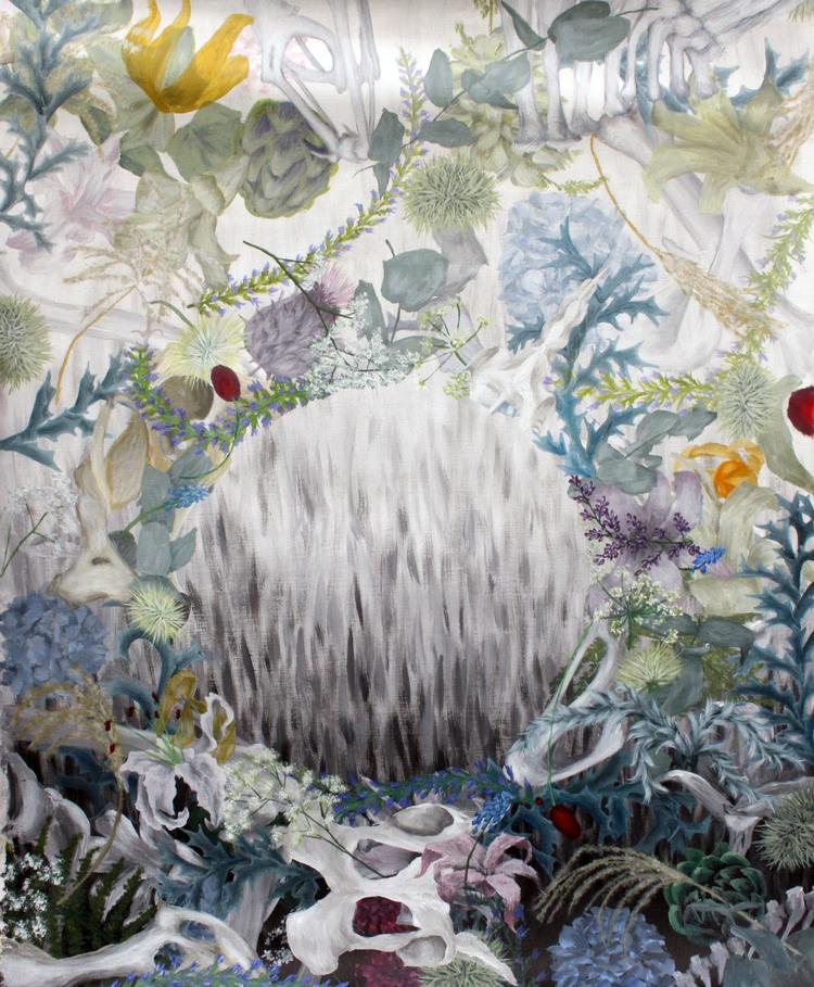 'Förgänglig', 2017, ett konstverk av Clara Lundgren