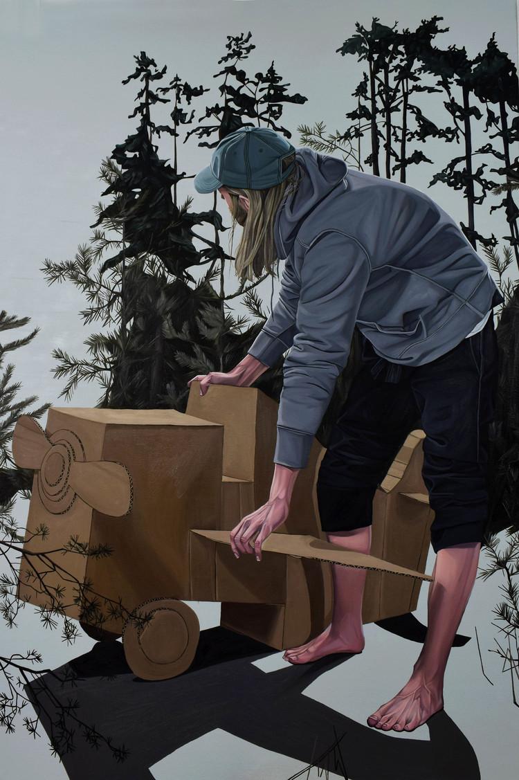 'Cavok', 2018, ett konstverk av Amanda Karlsson