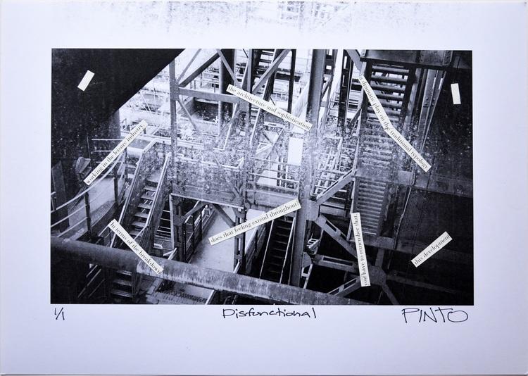'Disfunctional', 2014, ett konstverk av Ezequiel Pinto-Guillaume