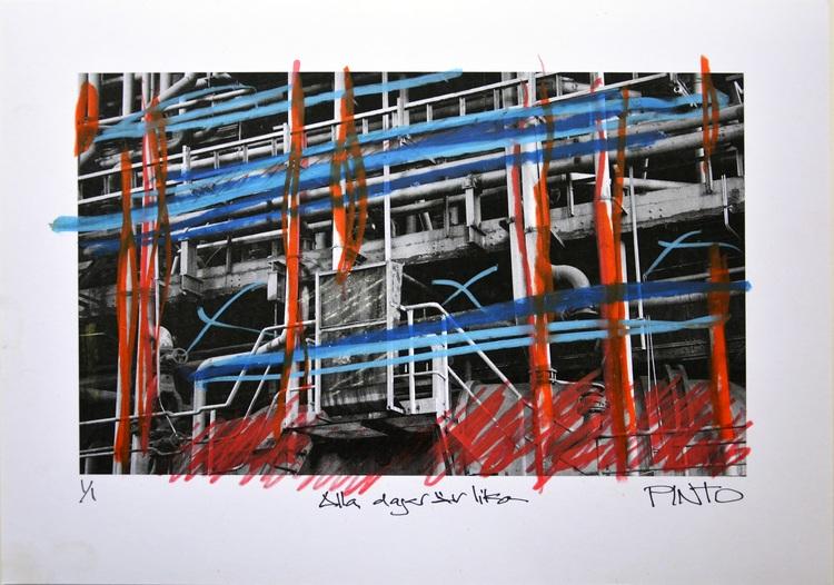 'Alla dagar är lika', 2014, ett konstverk av Ezequiel Pinto-Guillaume