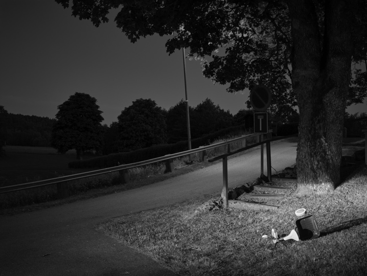 'Bright night #3', 2017, ett konstverk av Jan Töve