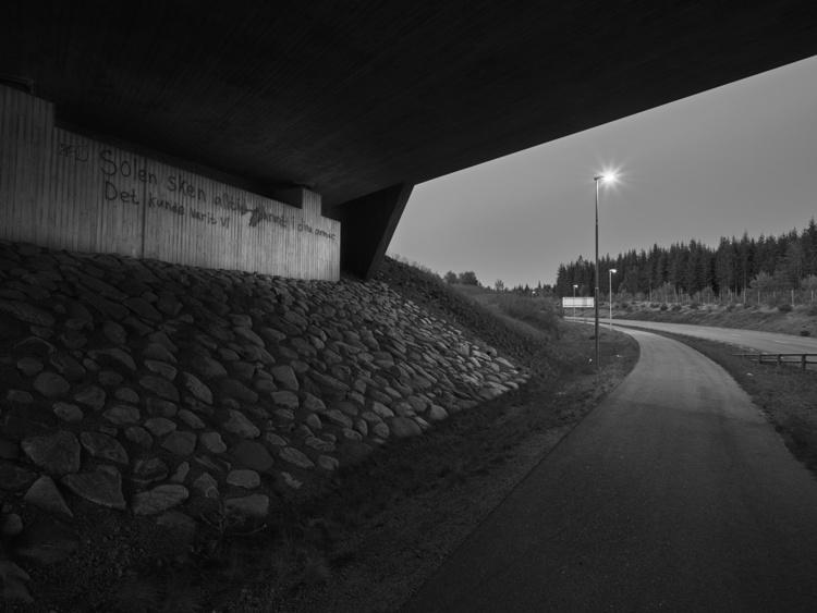 'Bright night # 4', 2017, ett konstverk av Jan Töve