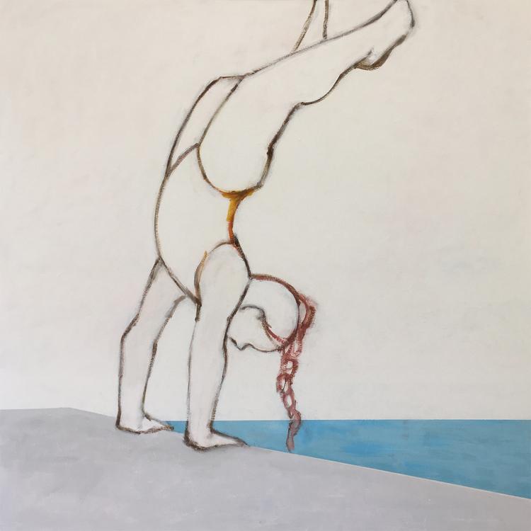 'Balans', 2018, ett konstverk av Eva Olsson