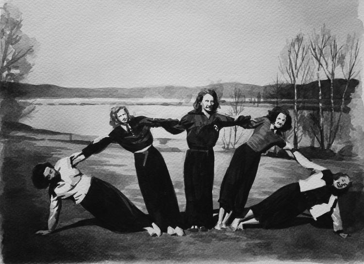 'Femling', 2019, ett konstverk av Natali Mårtensson