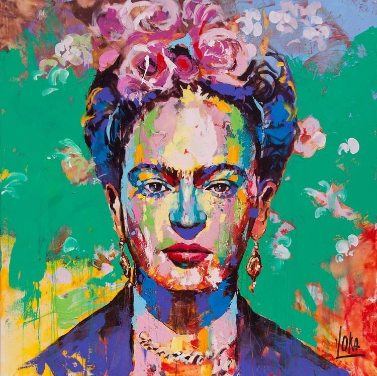 'Frida', 2019, ett konstverk av Voka