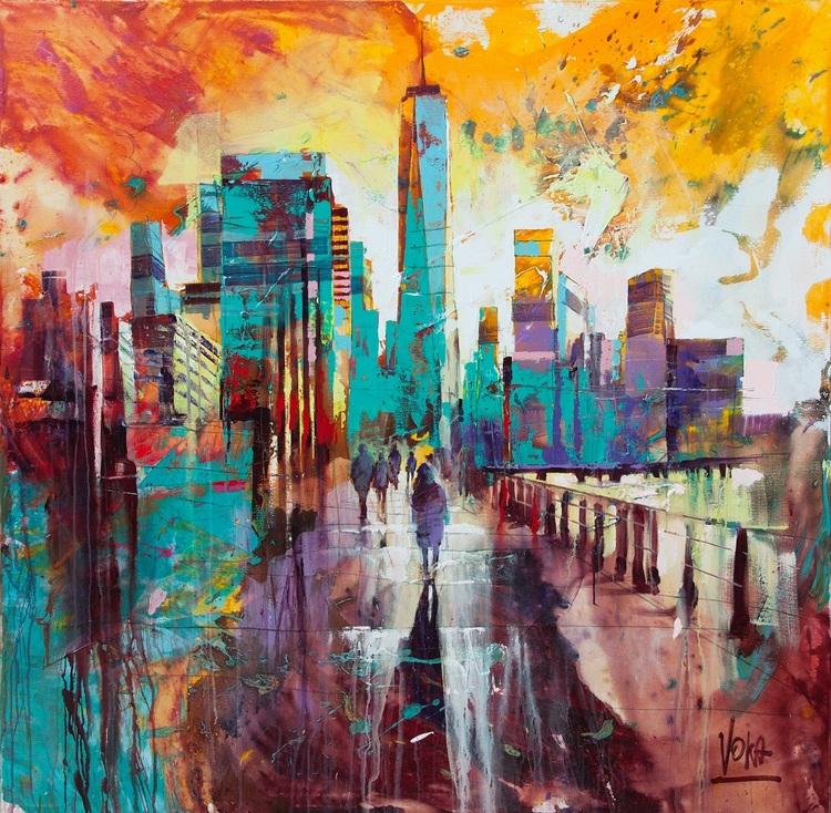 'NYC 08', 2019, ett konstverk av Voka