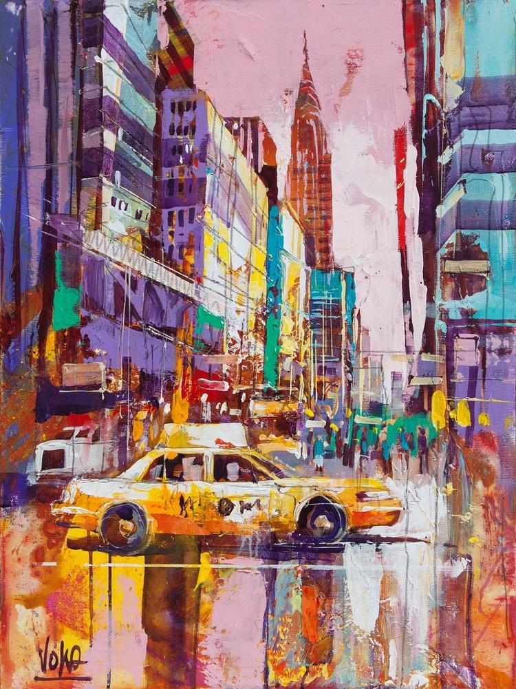 'NYC 06', 2019, ett konstverk av Voka