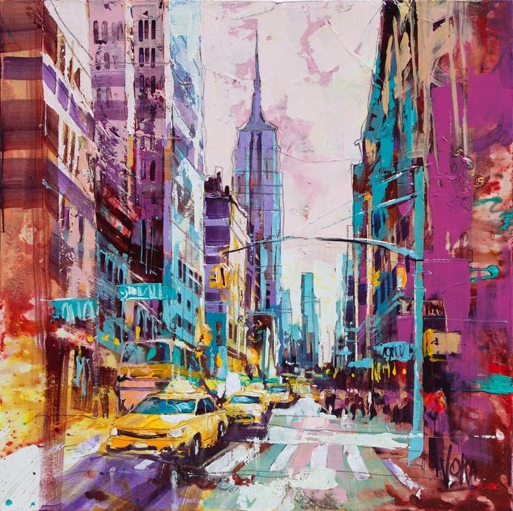 'NYC 03', 2019, ett konstverk av Voka