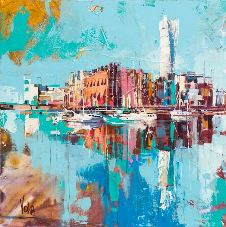'Malmö', 2019, ett konstverk av Voka