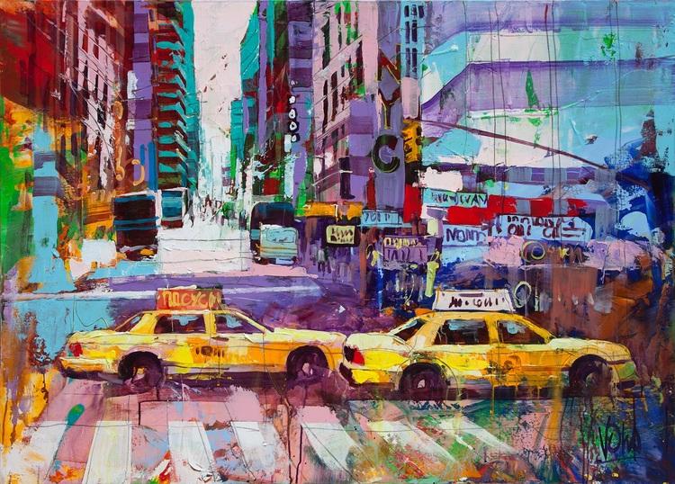 'NYC 07', 2019, ett konstverk av Voka