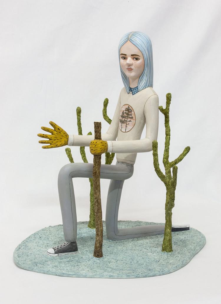 'Strong individual ', 2017, ett konstverk av Sara Nilsson