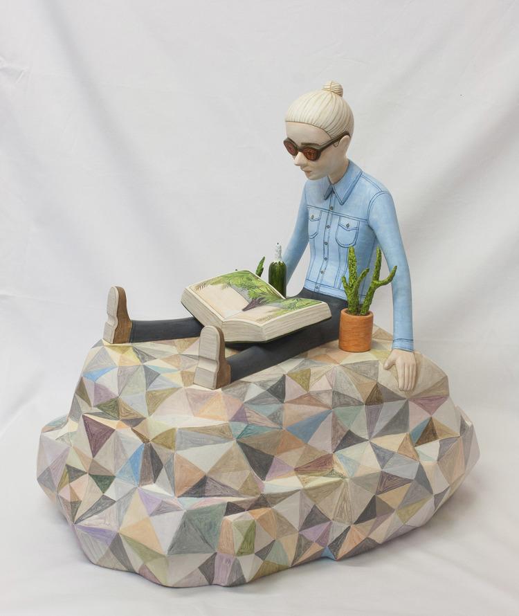 'Den underliggande kraften', 2017, ett konstverk av Sara Nilsson
