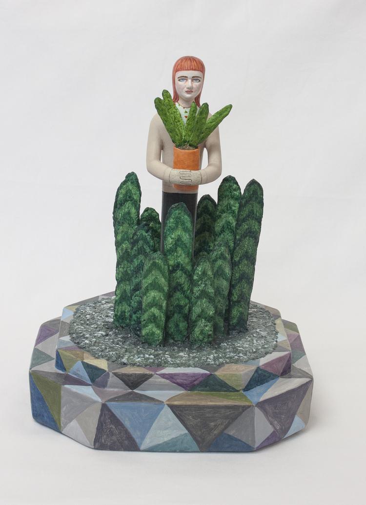 ' I centrum av periferin', 2017, ett konstverk av Sara Nilsson