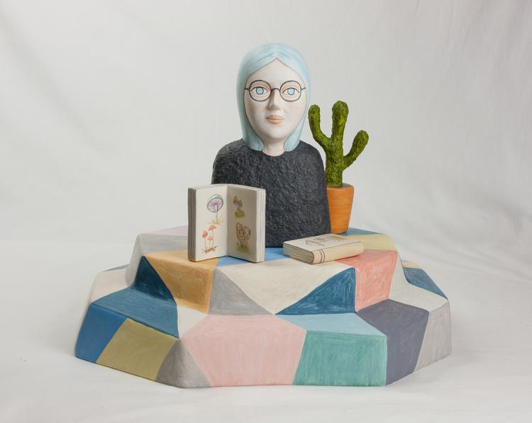 'On the rocks I', 2019, ett konstverk av Sara Nilsson